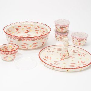 Temp-tations Old World 6-Piece Bake and Appetizer